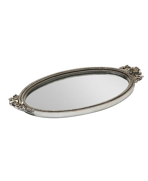 Taymor Antique Rose Mirror Tray