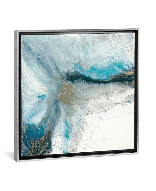 "iCanvas Split Apart by Blakely Bering Gallery-Wrapped Canvas Print - 18"" x 18"" x 0.75"""