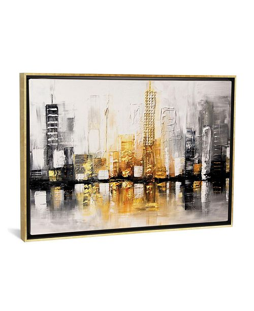 """iCanvas City View by Osnat Tzadok Gallery-Wrapped Canvas Print - 18"""" x 26"""" x 0.75"""""""