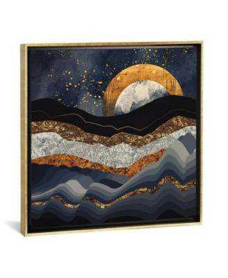 Metallic Mountains by Spacefrog Designs Gallery-Wrapped Canvas Print - 26