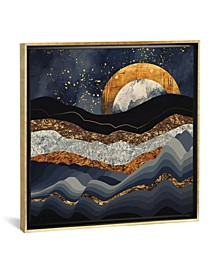 Metallic Mountains by Spacefrog Designs Gallery-Wrapped Canvas Print