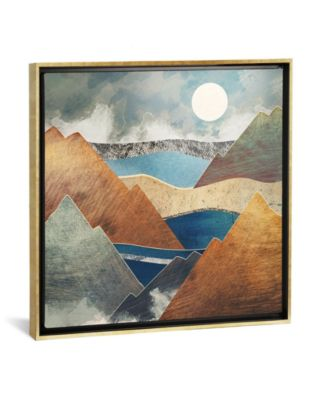 """Mountain Pass by Spacefrog Designs Gallery-Wrapped Canvas Print - 37"""" x 37"""" x 0.75"""""""