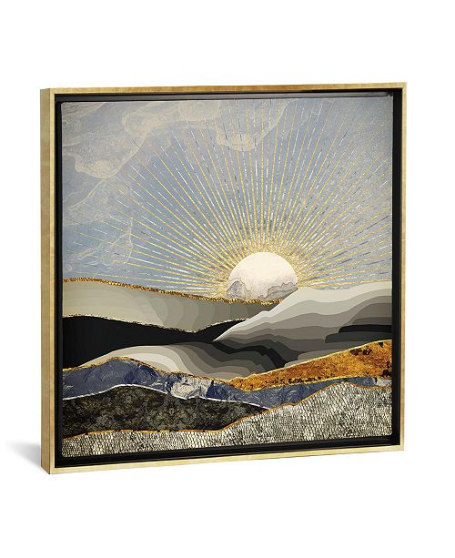 """iCanvas Morning Sun by Spacefrog Designs Gallery-Wrapped Canvas Print - 18"""" x 18"""" x 0.75"""""""