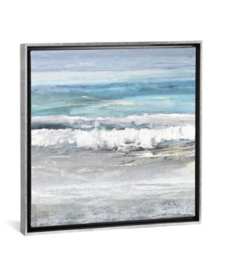 "Tides I by Rachel Springer Gallery-Wrapped Canvas Print - 37"" x 37"" x 0.75"""