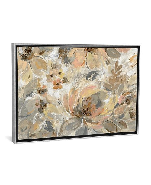 """iCanvas Ivory Floral by Silvia Vassileva Gallery-Wrapped Canvas Print - 26"""" x 40"""" x 0.75"""""""