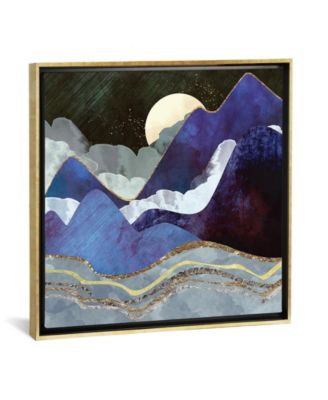 """Midnight by Spacefrog Designs Gallery-Wrapped Canvas Print - 37"""" x 37"""" x 0.75"""""""