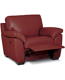 """Lothan 41"""" Leather Power Footrest, Created for Macy's"""