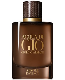 Giorgio Armani Men's Acqua di Giò Absolu Instinct Eau de Parfum Spray, 2.5-oz.