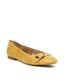Anne Klein Irela Buckle Flats