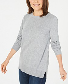 Crewneck Long-Sleeve Sweater, Created for Macy's