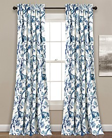 Dolores Botanical Print Curtain Collection