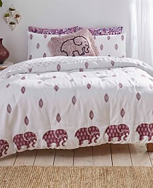 Ivory Ella Lauren Full/Queen Comforter Set