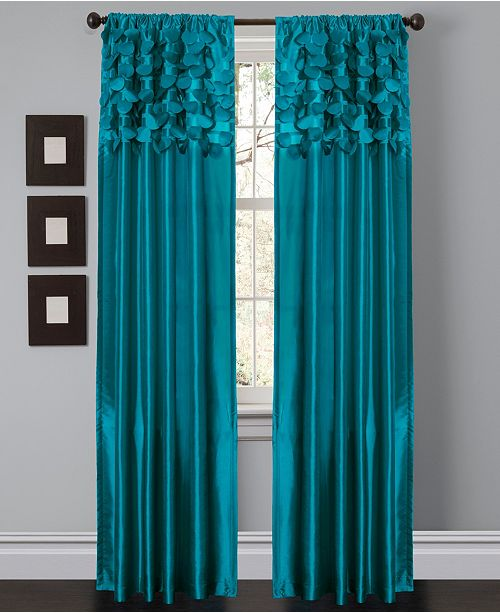 "Lush Decor Circle Dream 54"" x 84"" Window Curtain Set"