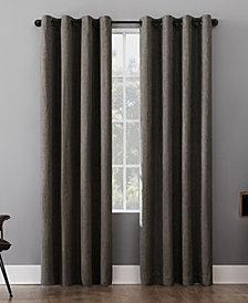 Sun Zero Patina Textured Blackout Curtain Collection