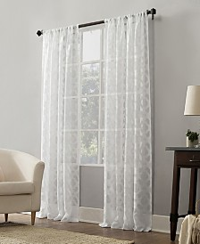 Suite 918 Yvette Trellis Jacquard Sheer Window Collection