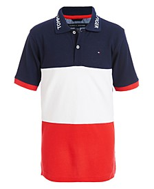 Toddler Boys Marc Colorblocked Logo-Collar Polo Shirt