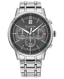 Men's Stainless Steel Bracelet Watch 43mm, Created for Macy's
