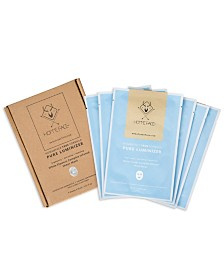 Pure Luminizer Sheet Mask Set for Men, 6ct