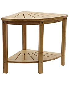 Redmon Bamboo Spa Style Corner Shower Seat