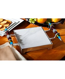 St. Croix KINDWER Beaded Marble Cheese Serving Tray