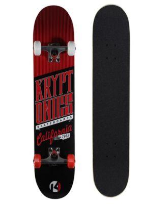 """Kryptonics 31"""" Star Series """"Cali-Red"""" Board"""