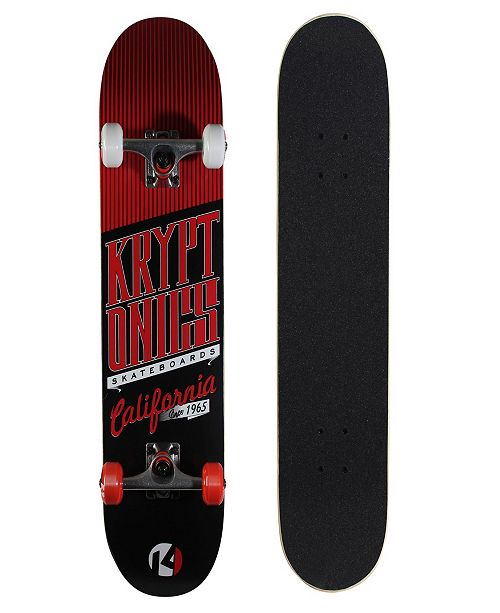 "Kryptonics 31"" Star Series ""Cali-Red"" Board"