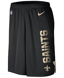 Nike Men's New Orleans Saints Player Knit Breathe Shorts