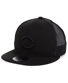 New Era Cincinnati Reds Blackout Meshback 59FIFTY-FITTED Cap