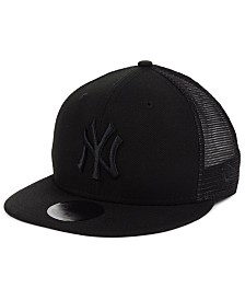 New Era New York Yankees Blackout Meshback 59FIFTY-FITTED Cap