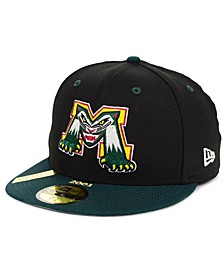 Michigan Battle Cats MiLB 100TH Anniversary Patch 59FIFTY-FITTED Cap