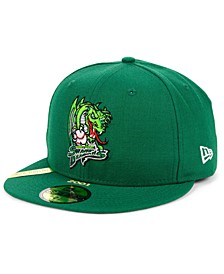 Shreveport Swamp Dragons MiLB 100TH Anniversary Patch 59FIFTY-FITTED Cap