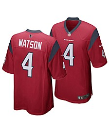 Men's DeShaun Watson Houston Texans Game Jersey