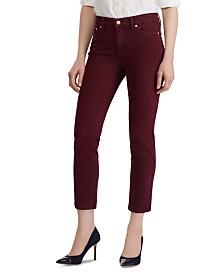 Lauren Ralph Lauren Petite Premier Straight-Leg Ankle Jeans