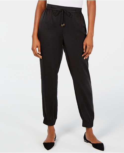Eileen Fisher Drawstring Ankle Pants