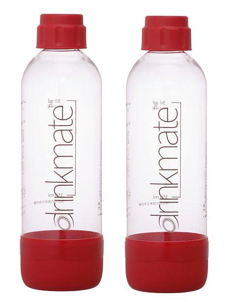 Drinkmate 0.5-L BOTTLES TWO PK