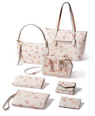 Butterfly Print Taylor Tote