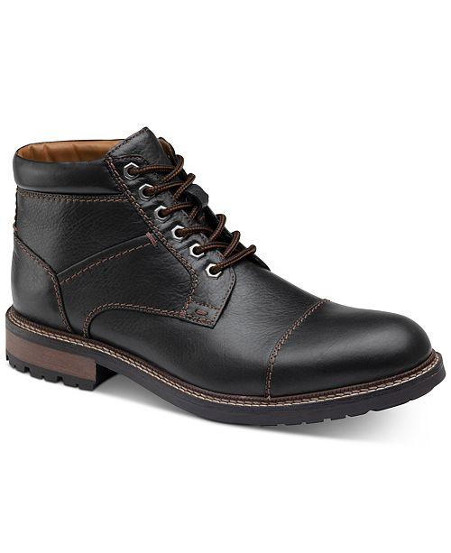 Johnston & Murphy Winstead Cap-Toe Boots