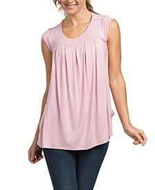 Sammy Pleated Lounge Tee Maternity and Nursing