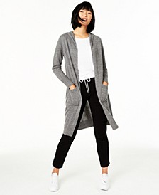 Cashmere Hooded Duster Sweater, Created for Macy's