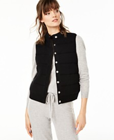 Charter Club Cashmere Vest, Regular & Petite Sizes, Created for Macy's