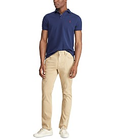 Polo Ralph Lauren Men's Stretch Sateen Five-Pocket Pants
