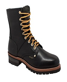 "AdTec Men's 9"" Logger Boot"