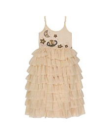 Masala Baby Kids Galaxy Tulle Dress