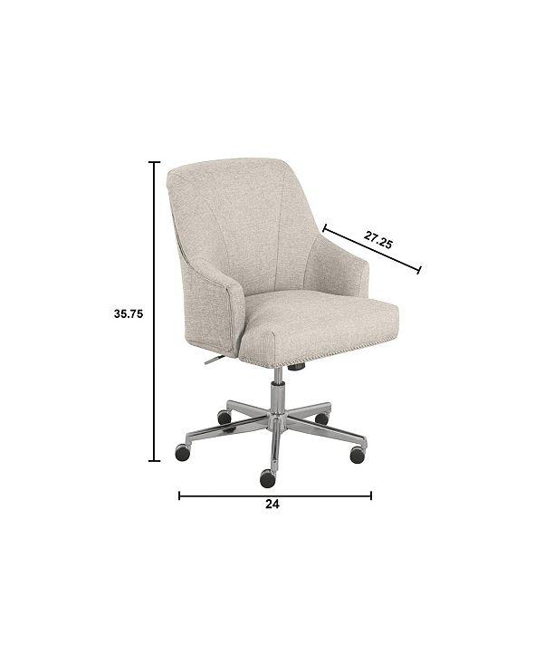 Serta Leighton Home Office Chair Reviews Furniture Macy S