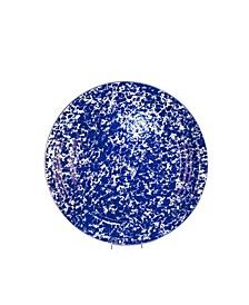 "Cobalt Swirl Enamelware Collection 15.5"" Serving Tray"