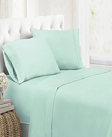 Ultra Soft Microfiber Double Brushed Blissful Dreams Twin Sheet Set
