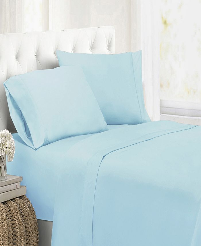 Swift Home - Ultra Soft Microfiber Double Brushed Blissful Dreams Queen Sheet Set
