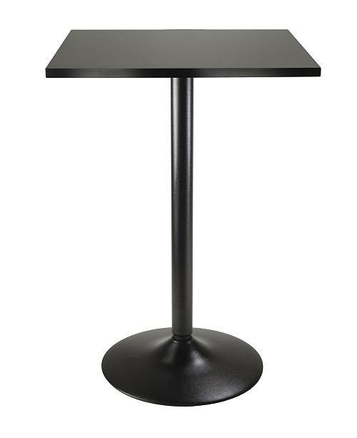 Winsome Square Pub Table with Leg and Base