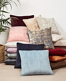 "Home Design Studio Elevated Core 20"" x 20"" Decorative Pillow Collection, Created for Macy's"