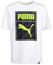 Puma Big Boys Logo Graphic T-Shirt